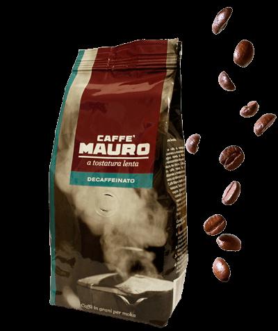 Mauro Kaffee Decaffeinato 500g Bohnen