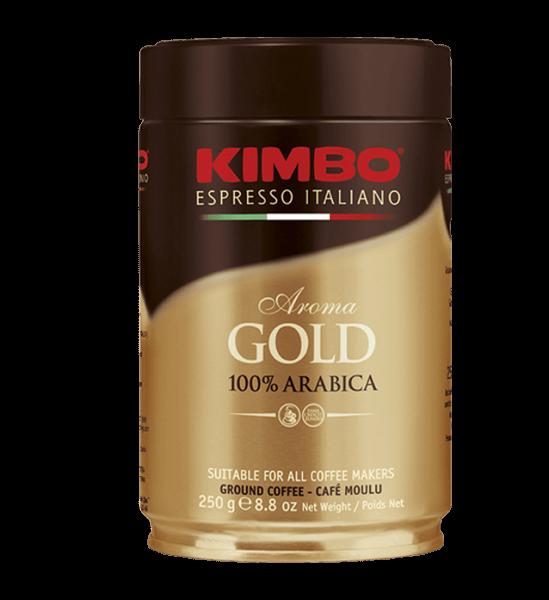 Kimbo Arabica 250g gemahlen Dose