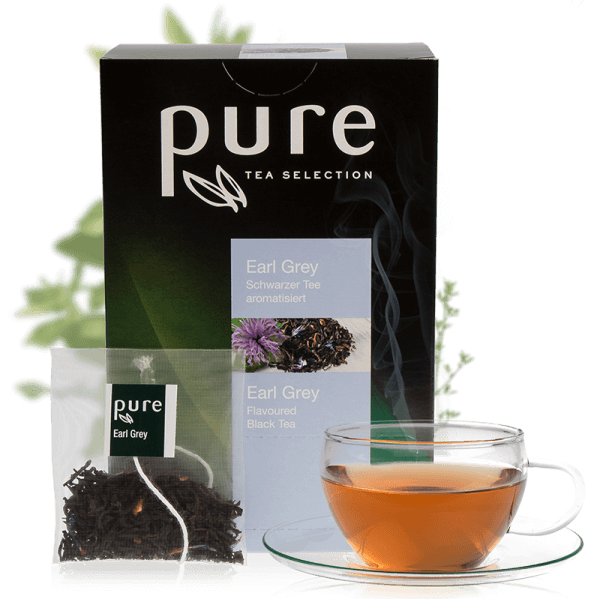 Pure Tee Selection Blumig Frischer Earl Grey 1 Box