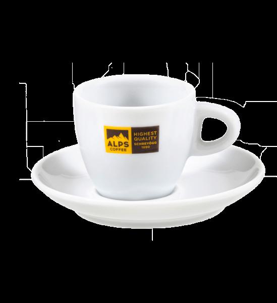 ALPS Coffee - Schreyögg Cappuccino Tasse