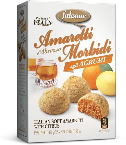 Amaretti d'Abruzzo Morbidi agli Agrumi
