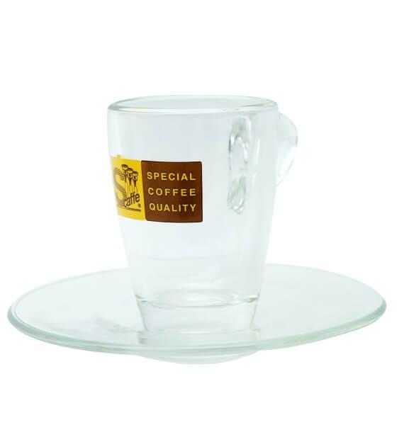 ALPS Coffee - Schreyögg Espressotasse aus Glas