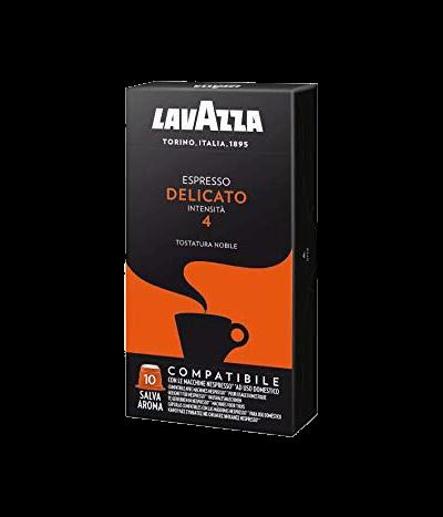 Lavazza Espresso Delicato - 10 Kapseln Nespresso® kompatibel