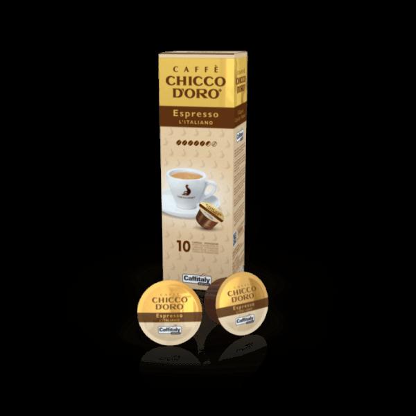 Chicco dOro Espresso Italiano, 10 Kapseln