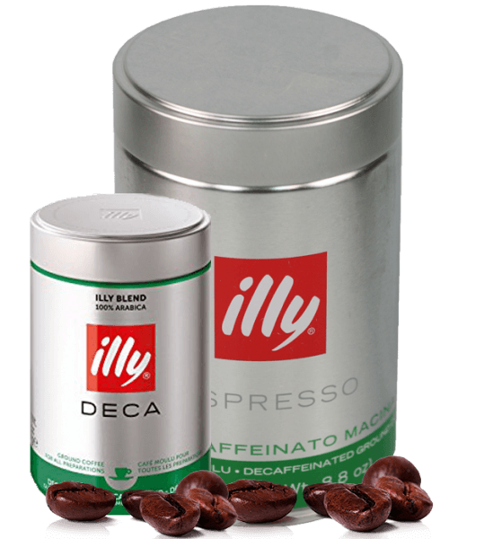 Illy Espresso koffeinfrei 250 Gramm gemahlen