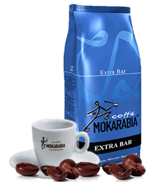 Mokarabia Extra Bar 1kg Bohnen