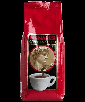 Manaresi Caffe Rosso 1kg Bohnen