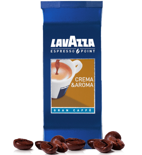 Lavazza Espresso Point 465 Crema & Aroma Gran Kaffee Kapseln - 100 Stk