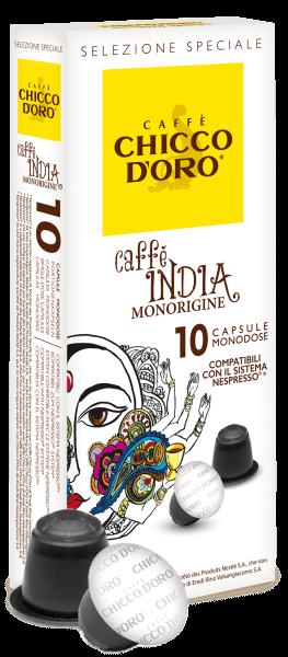 Chicco dOro Caffè India - Nespresso® kompatibel - 10 Kapseln