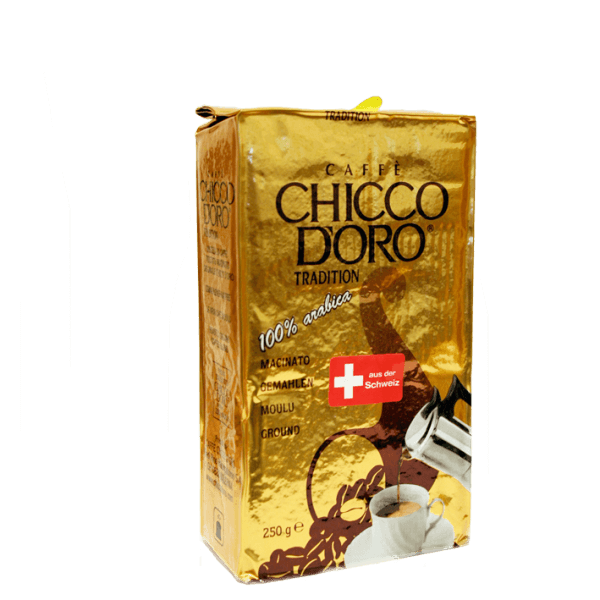 Chicco d'Oro Tradition, Kaffee Espresso 250g gemahlen