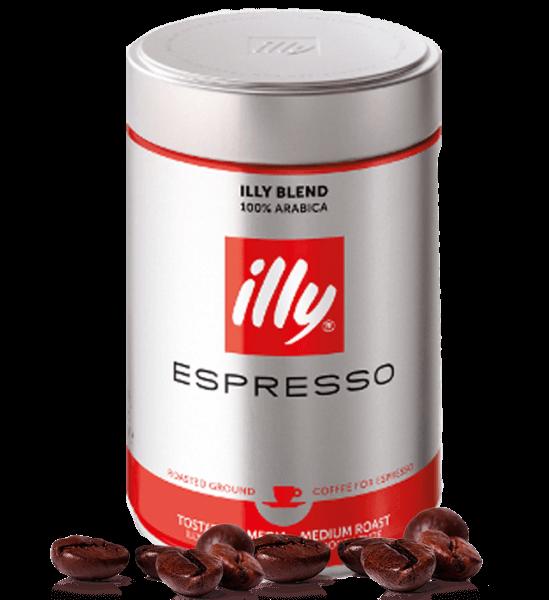 Illy Espresso Röstung N rot 250 Gramm gemahlen