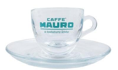 Mauro Espresso Tasse aus Glas