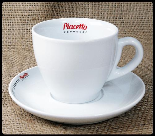 Piacetto Caffé Latte Tasse mit Untertasse