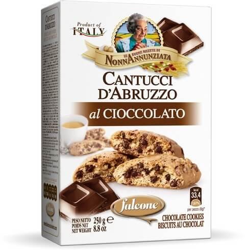 Cantucci d'Abruzzo al Cioccolato 250g