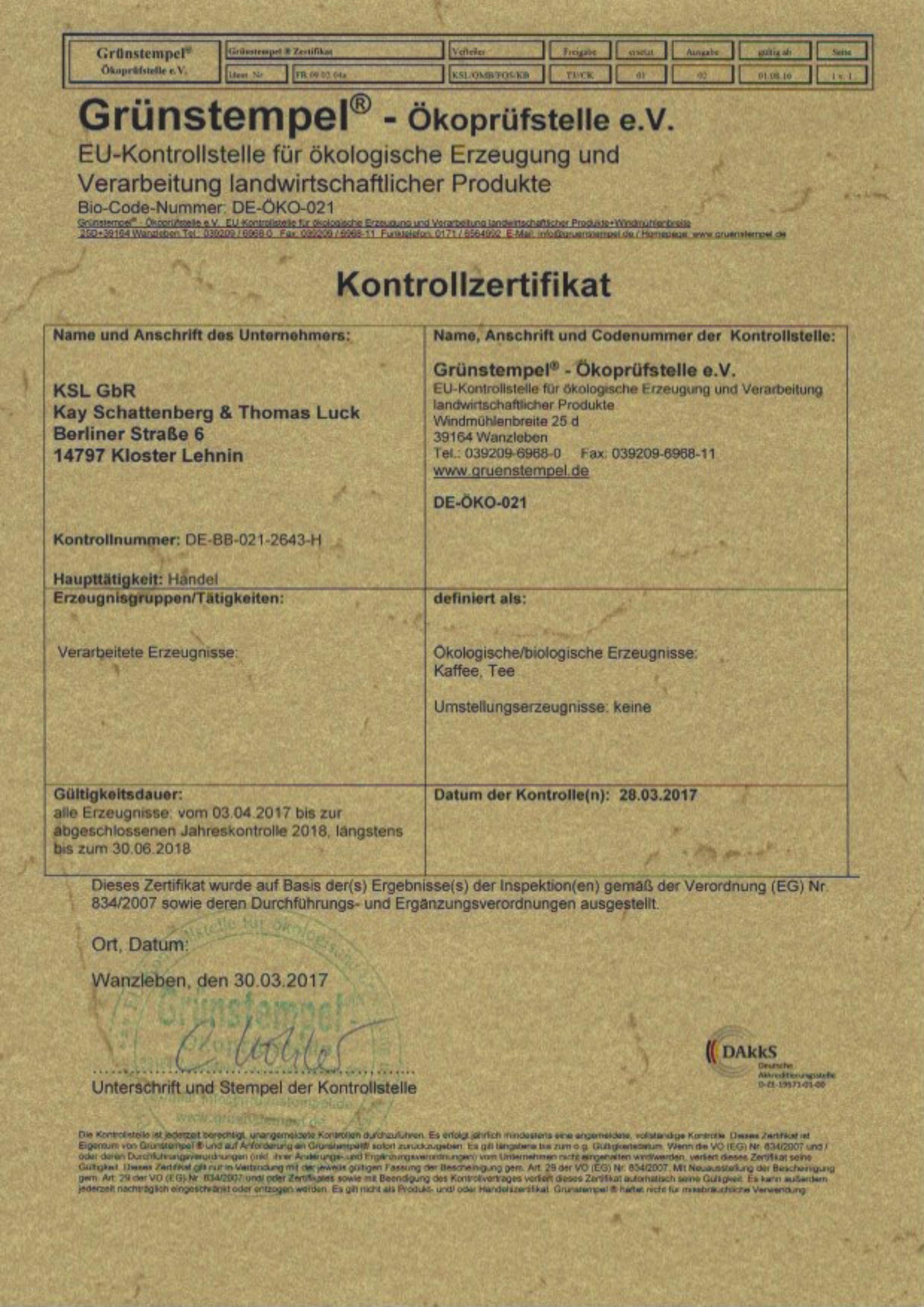 bio1-zertikikat