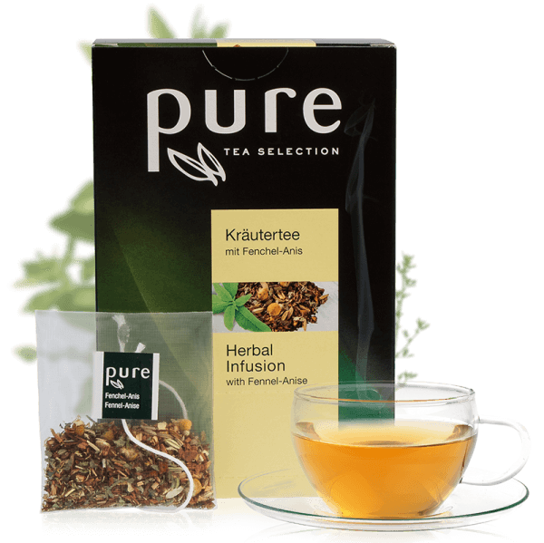 Pure Tee Selection Kräutertee mit Fenchel-Anise 1 Box