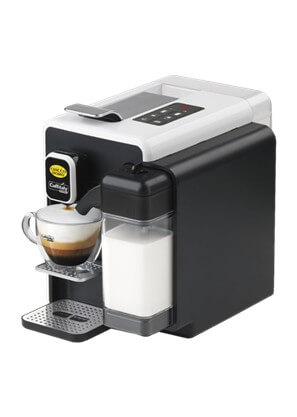 Chicco dOro Caffitaly S22 Kapselmaschine in Schwarz/ Weiss