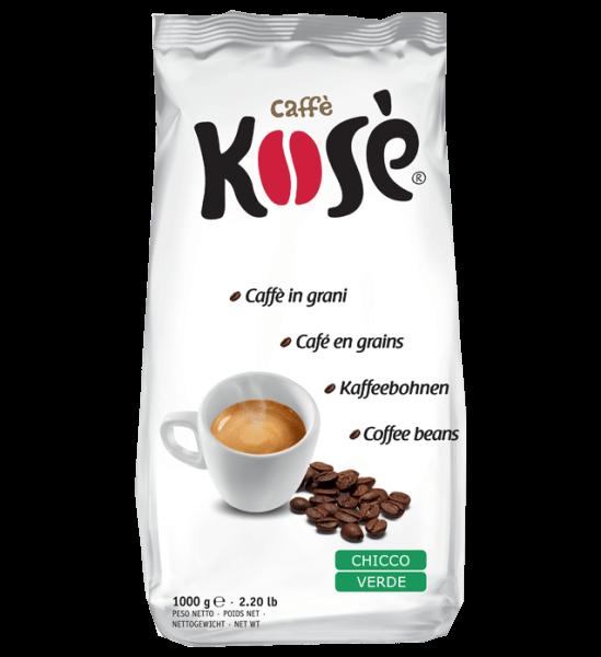 Caffe Kose Chicco Verde 1kg Bohnen