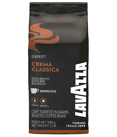 Lavazza Crema Classica 1kg Bohnen - Kaffee Espresso