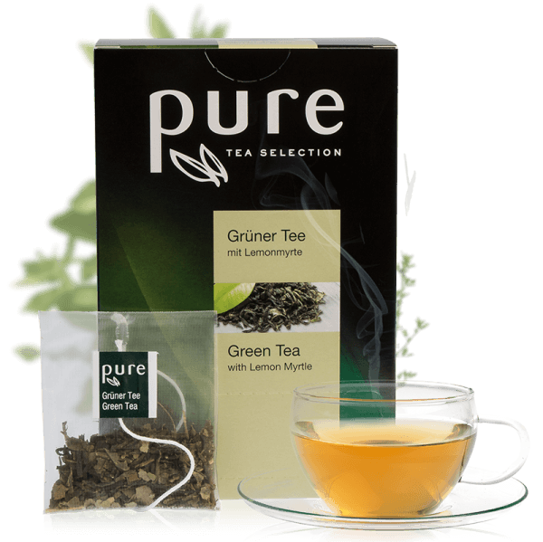 Pure Tee Selection Grüner Tee mit Lemonmyrte 1 Box