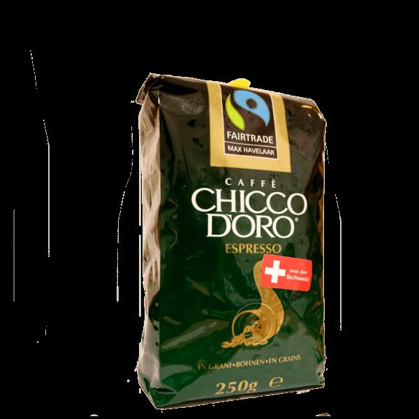 Chicco d'Oro Max Havelaar Fair Trade Espresso 250g Bohnen