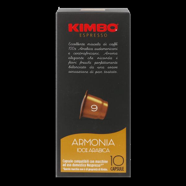 Kimbo Armonia Kapseln - Nespresso® kompatibel - 10 Kapseln