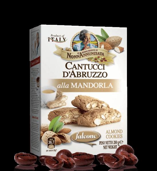 Cantucci D'Abruzzo alla Mandorla - Karton mit 200g