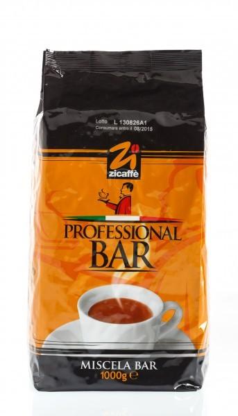 Zicaffe Professional Bar Espresso Kaffee 1000 Gramm Bohnen