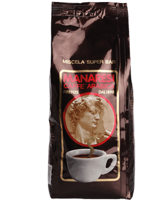 Manaresi Caffe Super Bar Marrone 1kg Bohnen
