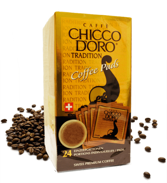 Chicco d'Oro Tradition Coffee Pads 1 VE-24 Pads a 7,5gStk