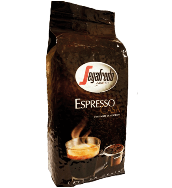 Segafredo Espresso Casa Espresso Kaffee 1kg Bohnen