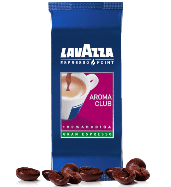 Lavazza Espresso Point 471 Aroma Club Gran Espresso Kapseln - 100 Stk