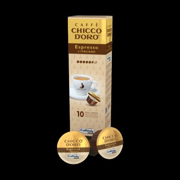 Chicco d'Oro Espresso Italiano 1 x 10 Kapseln