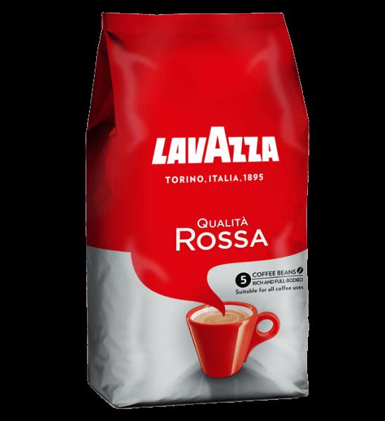 Lavazza Qualita Rossa 1kg Bohnen