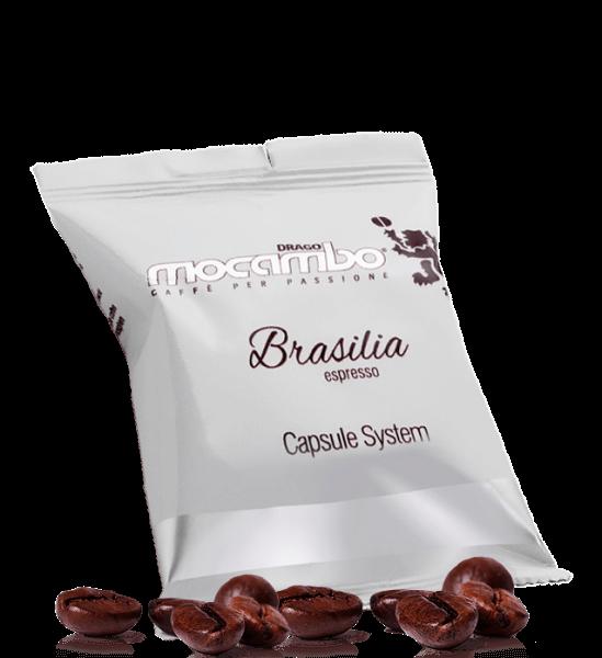 Mocambo Brasilia Espresso Kapseln LEP - 50 Kapseln