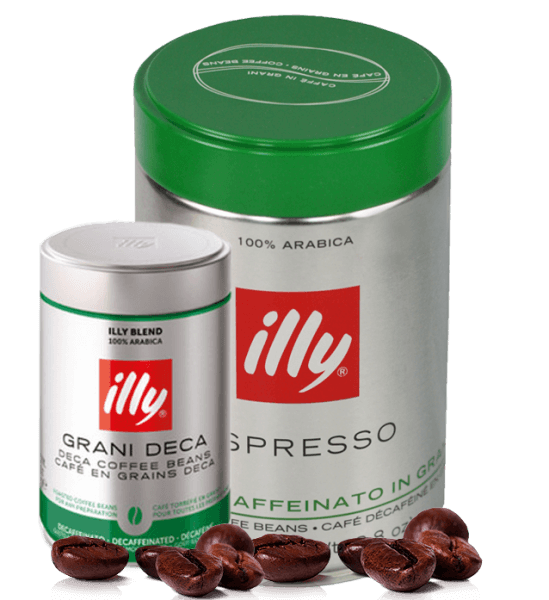 Illy Espresso koffeinfrei 250 Gramm Bohnen