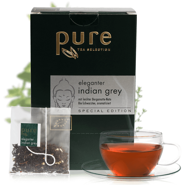 Pure Tea Special Edition Bio eleganter indian grey 1 Box