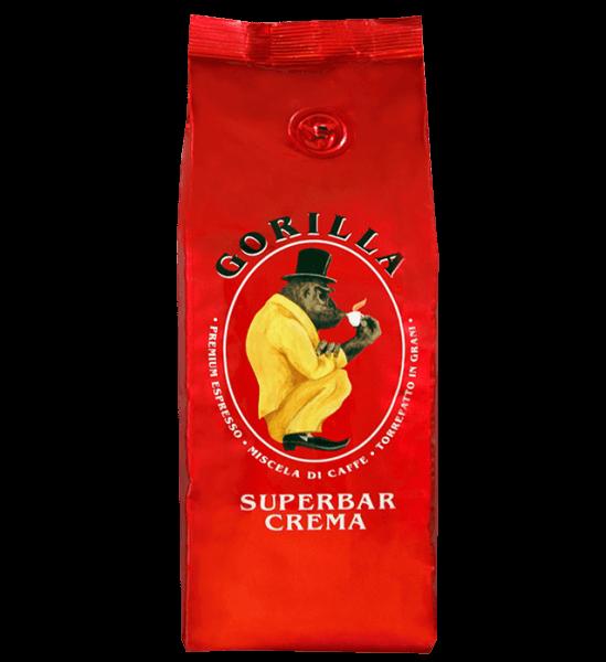 Gorilla Super Bar Crema 250g Bohnen