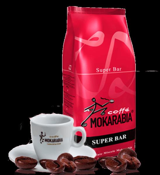 Mokarabia Super Bar 1kg Bohnen