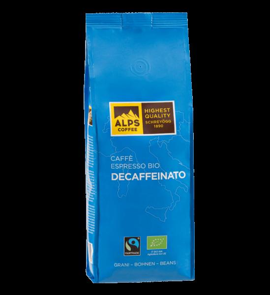 Schreyögg Espresso Decaffeinato Bio 500g Bohnen